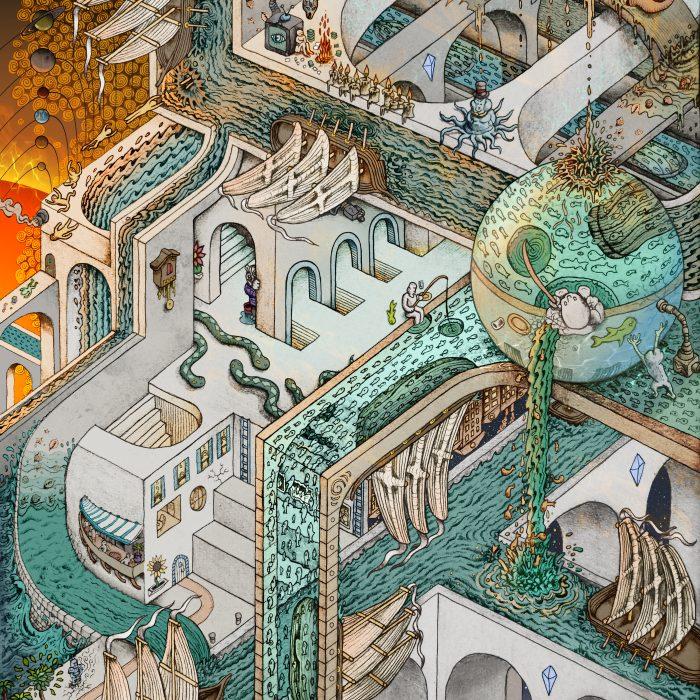 Fishing for Escher