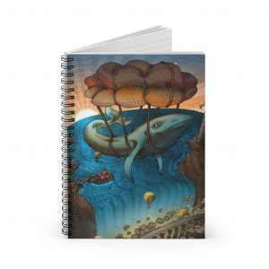 Flight of the Whale | Spiral Notebook