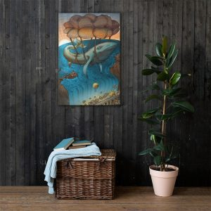 Flight of the Whale 24′ x 36′ Canvas