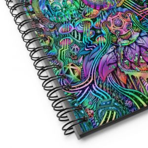 Time Temple | Spiral notebook