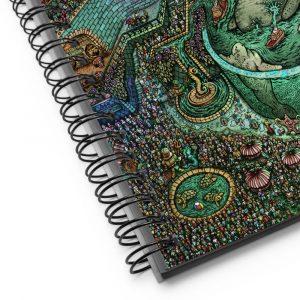 King Manatee | Spiral notebook