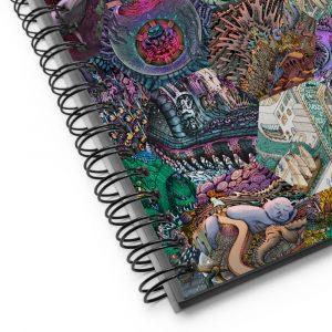 Hex Montage – Spiral notebook