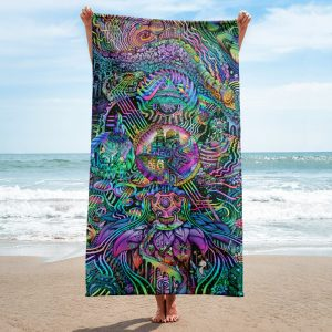 Time Temple | Towel