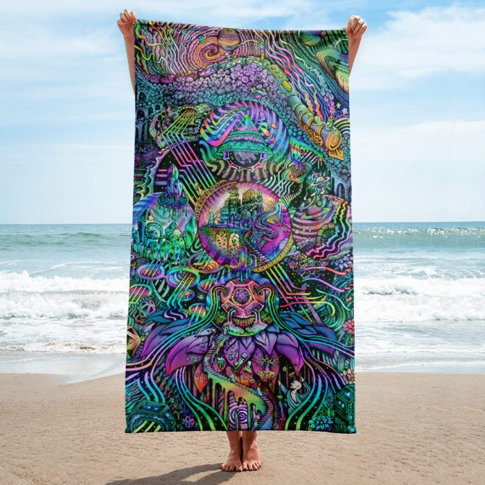 Time Temple   Towel